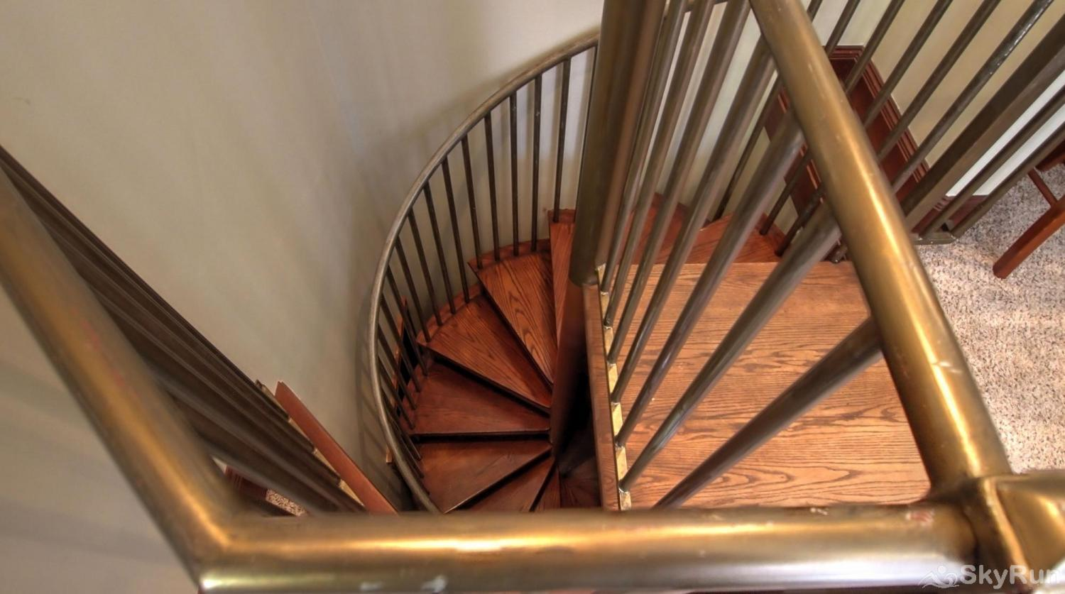 Ballard House 207 3BR Go down the spiral Staircase