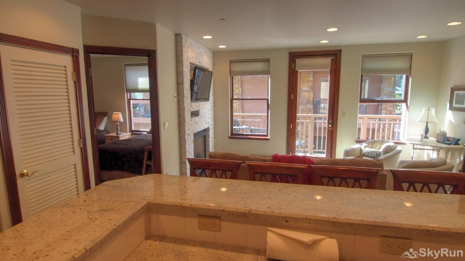 Ballard House 207 3BR Living area from Kitchen